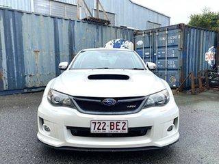 2012 Subaru Impreza G3 MY13 WRX AWD S-Edition Pearl White 5 Speed Manual Sedan