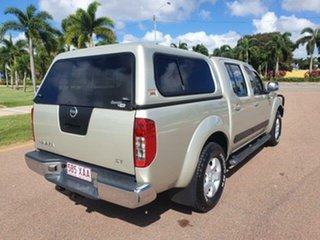 2010 Nissan Navara D40 ST Yellowish 6 Speed Manual Utility.