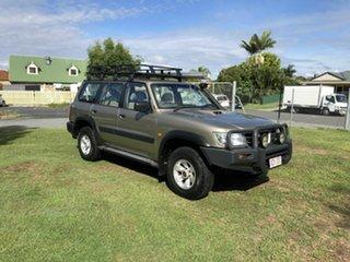 2003 Nissan Patrol GU III MY2003 ST Gold 4 Speed Automatic Wagon.