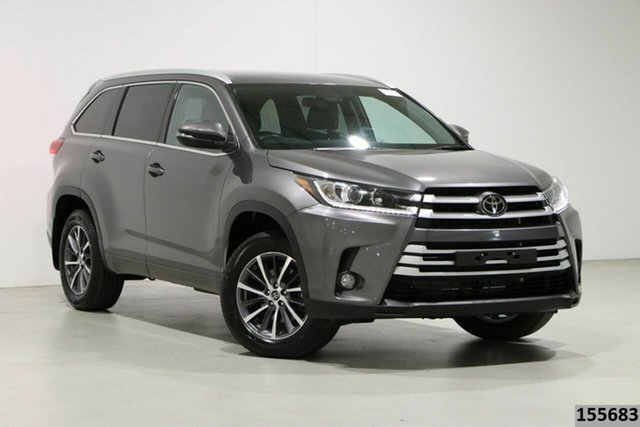 Used Toyota Kluger GSU50R GXL (4x2) Bentley, 2019 Toyota Kluger GSU50R GXL (4x2) Grey 8 Speed Automatic Wagon