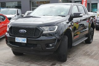 2020 Ford Ranger PX MkIII 2020.25MY FX4 Black 6 Speed Sports Automatic Double Cab Pick Up