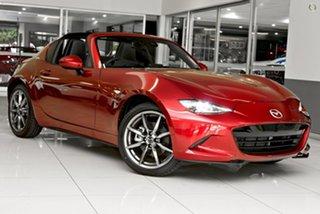 2021 Mazda MX-5 ND GT RF SKYACTIV-Drive Red 6 Speed Sports Automatic Targa.