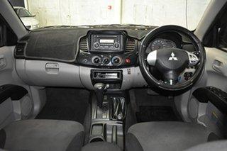 2010 Mitsubishi Triton MN MY11 GL-R (4x4) Grey 4 Speed Automatic Double Cab Utility.
