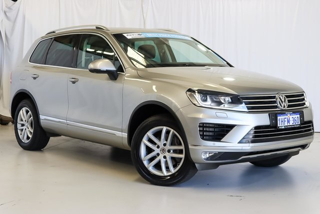 Used Volkswagen Touareg 7P MY17 150TDI Tiptronic 4MOTION Element Wangara, 2017 Volkswagen Touareg 7P MY17 150TDI Tiptronic 4MOTION Element Grey 8 Speed Sports Automatic Wagon