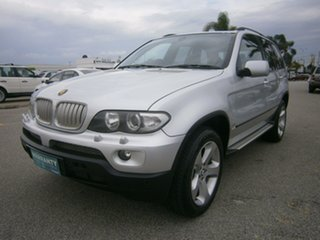 2004 BMW X5 E53 MY04 Steptronic Silver 6 Speed Sports Automatic Wagon