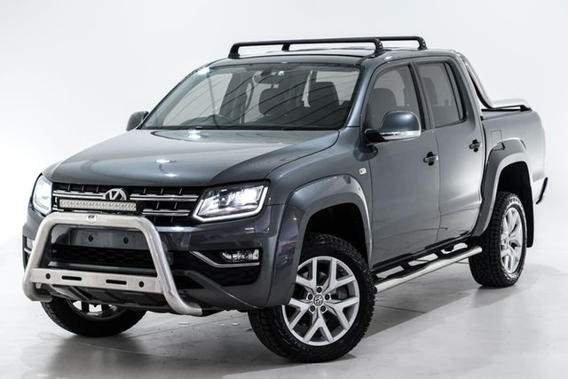 Used Volkswagen Amarok 2H MY17 TDI550 4MOTION Perm Ultimate Berwick, 2017 Volkswagen Amarok 2H MY17 TDI550 4MOTION Perm Ultimate Grey 8 Speed Automatic Utility