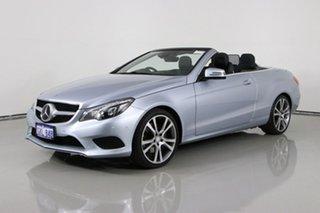 2013 Mercedes-Benz E250 E207 MY12 Avantgarde B.E Silver 7 Speed Automatic Cabriolet.