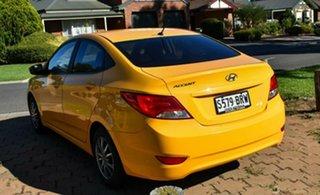 2017 Hyundai Accent RB5 MY17 Sport Sunflower 6 Speed Manual Sedan