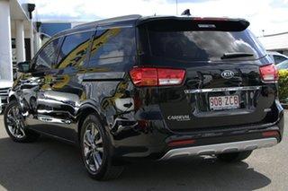 2018 Kia Carnival YP MY18 Platinum Aurora Black 6 Speed Sports Automatic Wagon.