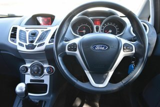 2010 Ford Fiesta WS Zetec Black 5 Speed Manual Hatchback