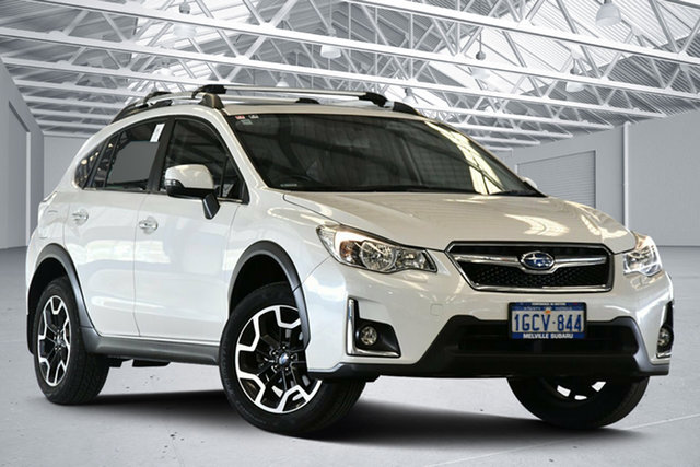 Used Subaru XV MY17 2.0I-S Perth Airport, 2016 Subaru XV MY17 2.0I-S Crystal White Continuous Variable Wagon