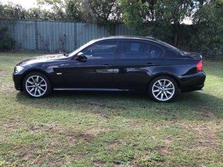2008 BMW 3 Series E90 MY08 320i Steptronic Executive Black 6 Speed Sports Automatic Sedan