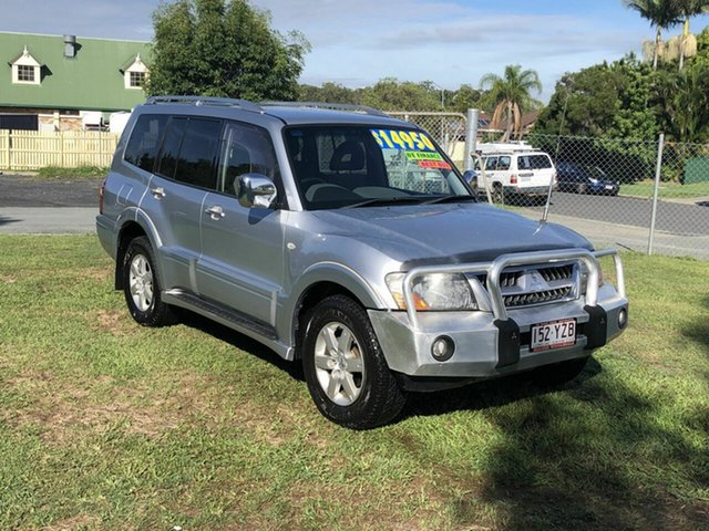 Used Mitsubishi Pajero NP MY05 GLX Kippa-Ring, 2005 Mitsubishi Pajero NP MY05 GLX Silver 5 Speed Sports Automatic Wagon