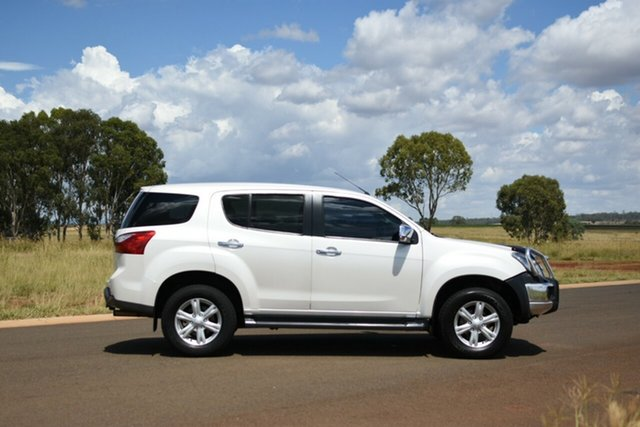 Used Isuzu MU-X UC MY15 LS-U (4x2) Kingaroy, 2015 Isuzu MU-X UC MY15 LS-U (4x2) White 5 Speed Automatic Wagon