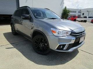 2018 Mitsubishi ASX XC MY19 Black Edition 2WD Grey 1 Speed Constant Variable Wagon.