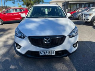 2014 Mazda CX-5 KE1031 MY14 Maxx SKYACTIV-Drive AWD Sport White 6 Speed Sports Automatic Wagon.