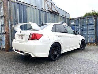2012 Subaru Impreza G3 MY13 WRX AWD S-Edition Pearl White 5 Speed Manual Sedan.