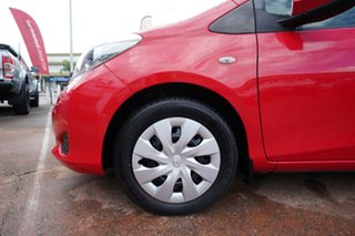 2013 Toyota Yaris NCP131R YRS Red 4 Speed Automatic Hatchback.