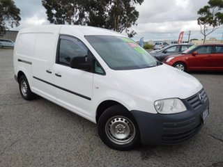 2008 Volkswagen Caddy 2KN Maxi White 5 Speed Manual Van.