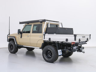 2020 Toyota Landcruiser VDJ79R GXL (4x4) Sandy 5 Speed Manual Double Cab Chassis