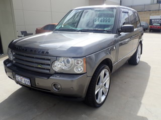 2008 Land Rover Range Rover MY08 Vogue TDV8 Storm Grey 6 Speed Auto Sequential Wagon.