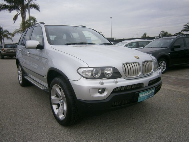 Used BMW X5 E53 MY04 Steptronic Cheltenham, 2004 BMW X5 E53 MY04 Steptronic Silver 6 Speed Sports Automatic Wagon