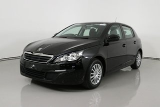 2016 Peugeot 308 T9 Access Black 6 Speed Automatic Hatchback.