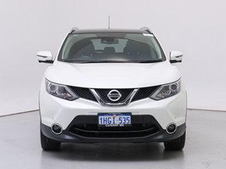 2017 Nissan Qashqai J11 TI White 6 Speed Manual Wagon.