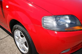 2007 Holden Barina TK MY08 Red 4 Speed Automatic Hatchback.