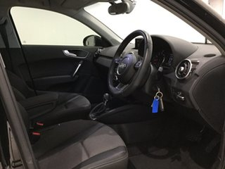 2015 Audi A1 8X MY16 Sport Sportback S Tronic Myth Black Metallic/ 7 Speed