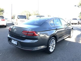 2016 Volkswagen Passat 3C MY17 140 TDI Highline Grey 6 Speed Direct Shift Sedan