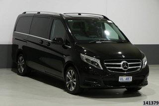 2017 Mercedes-Benz V250d 447 MY17 Avantgarde MWB Obsidian Black Metallic 7 Speed Automatic Wagon