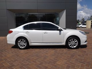 2012 Subaru Liberty B5 MY13 2.5X Lineartronic AWD White 6 Speed Constant Variable Sedan.