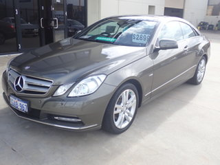 2011 Mercedes-Benz E250 207 MY11 CGI Avantgarde Olivine 5 Speed Automatic Coupe.