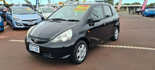 2007 Honda Jazz GD GLi Black 1 Speed Constant Variable Hatchback