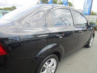 2010 Holden Barina TK MY11 Black 4 Speed Automatic Sedan