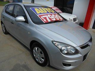 2011 Hyundai i30 FD MY11 SLX Silver 4 Speed Automatic Hatchback.