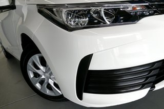 2019 Toyota Corolla ZRE172R MY17 Ascent White 7 Speed CVT Auto Sequential Sedan.