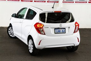 2016 Holden Spark MP MY16 LT White Continuous Variable Hatchback