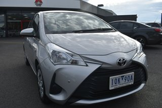 2019 Toyota Yaris NCP130R Ascent Billet Silver 4 Speed Automatic Hatchback.
