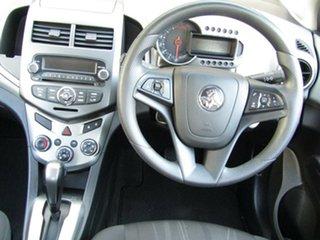 2014 Holden Barina TM MY14 CD 8 Ball Black 6 Speed Automatic Hatchback