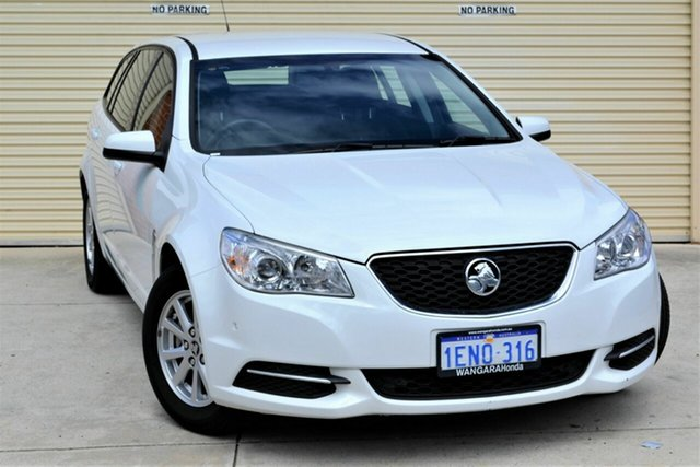 Used Holden Commodore VF MY14 Evoke Sportwagon Mount Lawley, 2014 Holden Commodore VF MY14 Evoke Sportwagon White 6 Speed Sports Automatic Wagon