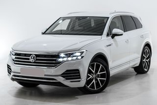 2019 Volkswagen Touareg CR MY19 190TDI Tiptronic 4MOTION Launch Edition White 8 Speed.