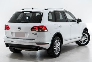 2016 Volkswagen Touareg 7P MY16 150TDI Tiptronic 4MOTION Element White 8 Speed Sports Automatic.