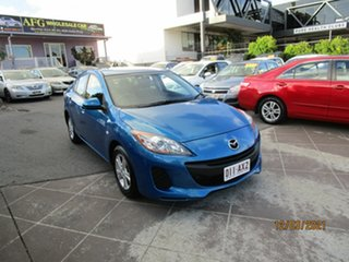 2012 Mazda 3 BL 11 Upgrade Maxx Sport Blue 5 Speed Automatic Sedan.