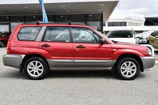 2005 Subaru Forester 79V MY05 XS AWD Red 4 Speed Automatic Wagon