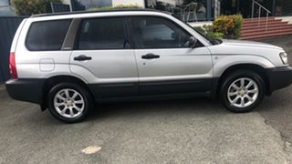2003 Subaru Forester 79V MY04 X AWD Silver 5 Speed Manual Wagon.
