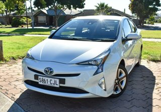 2018 Toyota Prius ZVW50R I-Tech White 1 Speed Constant Variable Liftback Hybrid.