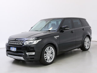 2015 Land Rover Range Rover LW MY15.5 Sport 3.0 SDV6 HSE Black 8 Speed Automatic Wagon.