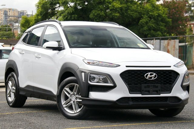 Used Hyundai Kona OS.2 MY19 Active 2WD Homebush, 2019 Hyundai Kona OS.2 MY19 Active 2WD White 6 Speed Sports Automatic Wagon